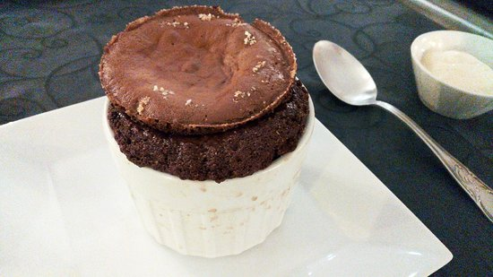 MELODYNICE : Chocolate souffle (pretty ugly and way too runny)