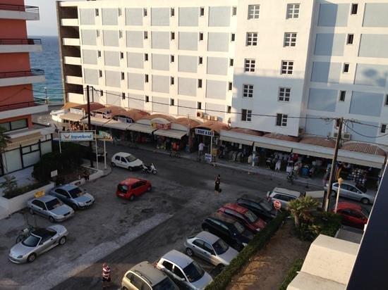 Alexia Premier City Hotel : vista dalla camera