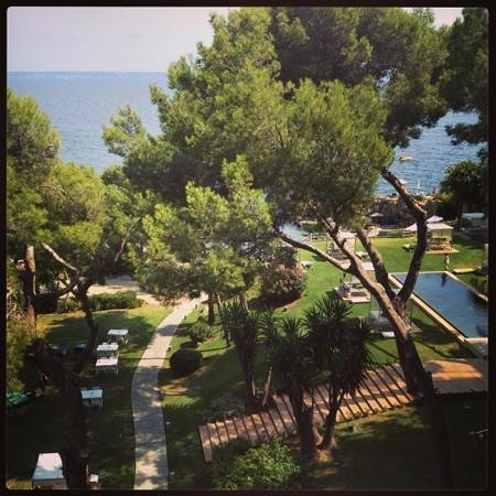 Gran Melia de Mar: vistas desde la terraza de la habitación