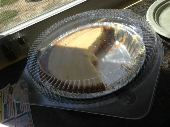 Kim's Key Lime Pie and Lotus Kitchen: This Kim's Key Lime Pie was supposed to be take out, but friends had other ideas!!
