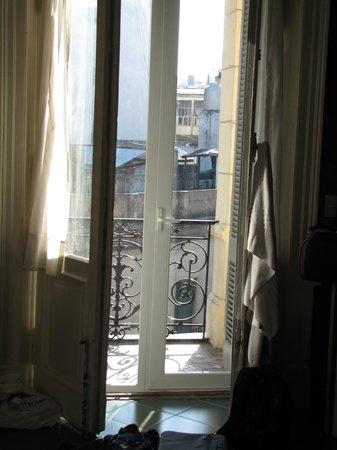 Ayres Portenos Tango Suites : Notre balcon