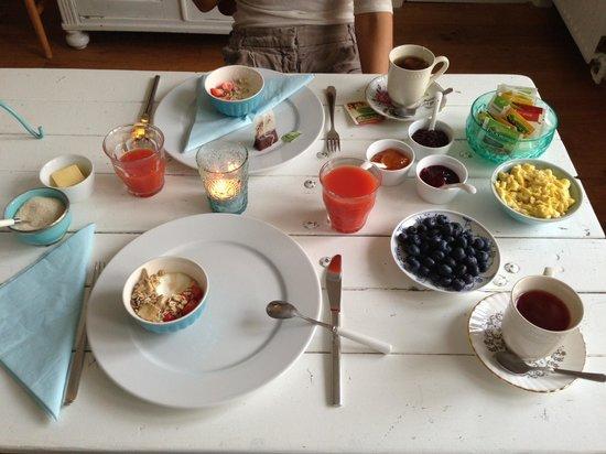 het Hemelrijck Bed & Breakfast: Breakfast