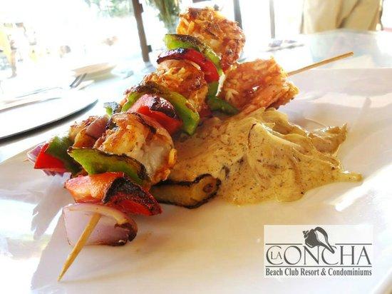 La Concha Beach Resort: Las especialidades del Chef