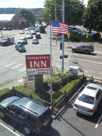 Georgetown Inn : View from Room 311