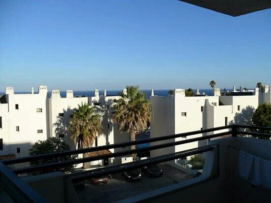 Vue balcon4 appartement 234 bat a8 albufeira jardim for Albufeira jardin