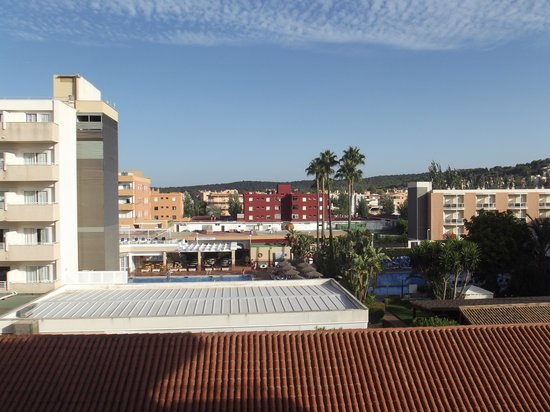 Zafiro Rey don Jaime: View from our balcony on the third floor