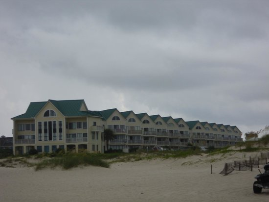 Gulf Shores Plantation: Our unit was mid way down. Still a great view.