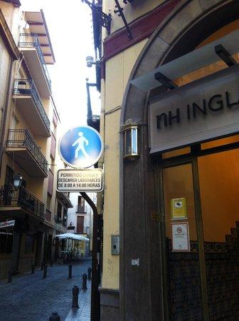 Hotel Inglaterra: l'ingresso