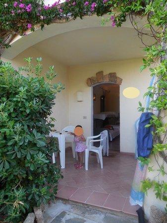 Hotel La Jacia: 玄関でくつろげます。