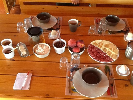 Eumelia Organic Agrotourism Farm & Guesthouse: breakfast