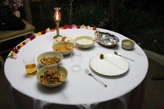beautiful dinner setting