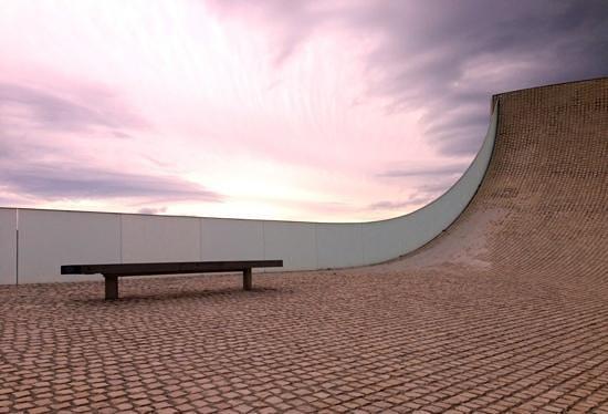 Cite de l'Ocean : Il tetto del museo...