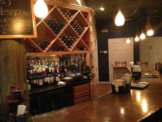 CD Cafe: Next Door Lounge bar area