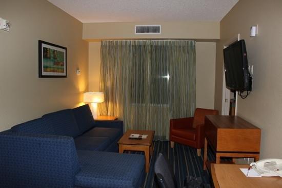 Residence Inn Anaheim Resort Area/Garden Grove : living area