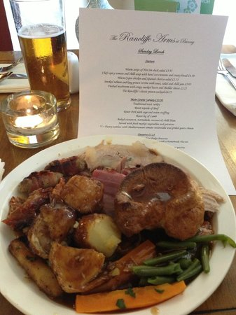 The Rancliffe Arms: Roast Dinner