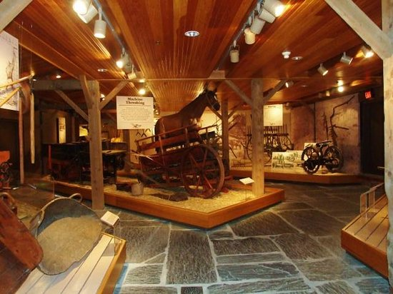 Billings Farm & Museum: Indoor displays are fascinating and deserve close attention