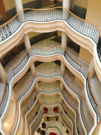 Hotel Alfonso V: i piani dall'alto