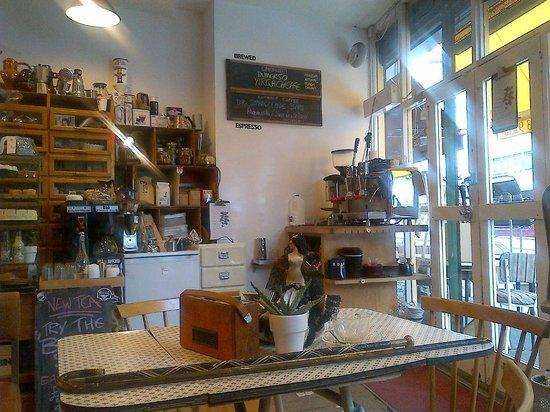 Bambino Coffee Saloon: Vintage Shop, Vintage Espresso Machine