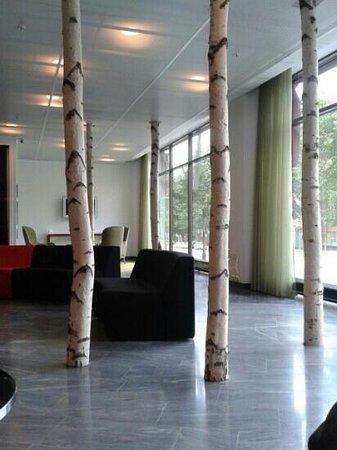 Elite Palace Hotel Stockholm: Reception