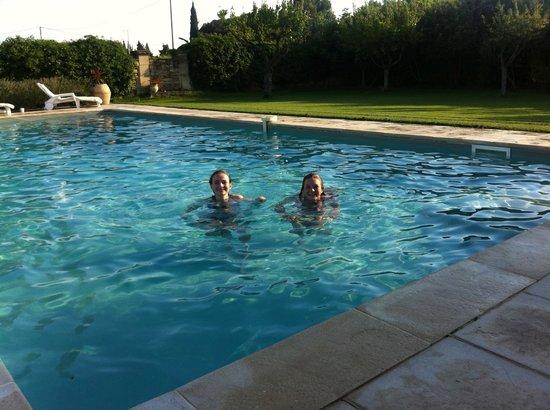 Auberge du Vin: The pool