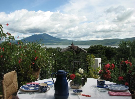 Los Dos Bed and Breakfast: View from Breakfast Terrace