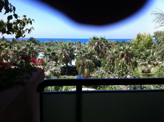 Acacia Resort Parco dei Leoni: Vue de notre chambre