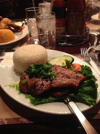 Pho at Treasure Island: nice meal