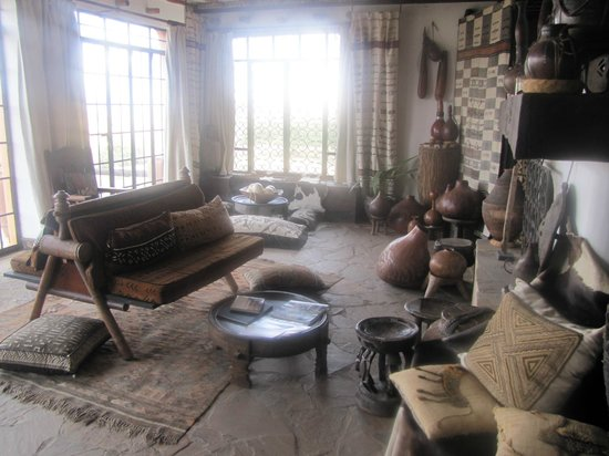 African Heritage House: Sitting Area