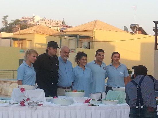 Indigo Mare: Underbar restaurangpersonal och manager