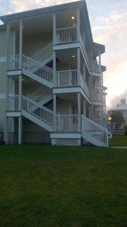 Holiday Inn Club Vacations Oak n' Spruce Resort : Stairs (no elevators)