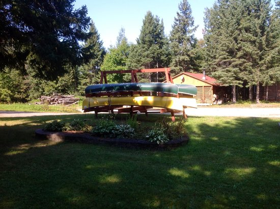 Mountainview Lodge: Canoes available