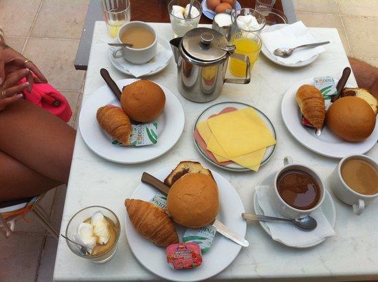 Moschos Hotel: Πρωινο
