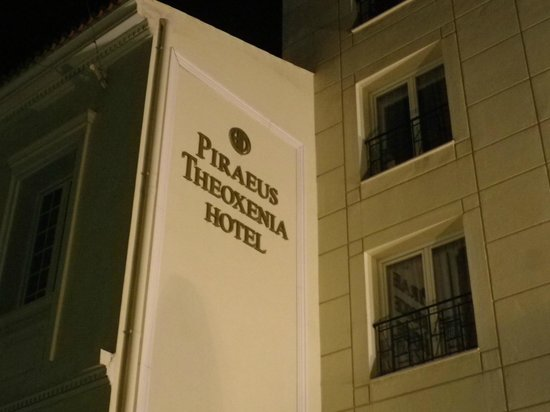 Piraeus Theoxenia Hotel: Hotel Exterior