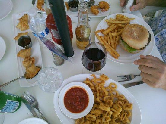 Sea Ketch Restaurant: food