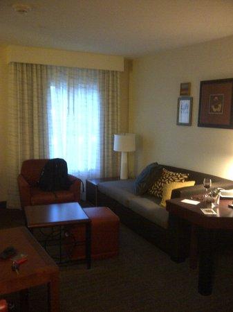 Residence Inn Columbia Northwest/Harbison : living room