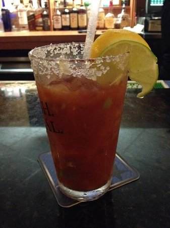 Ramada Fresno Airport: say hi to Erika @ the bar. one of the best bloody Mary's I've ever had!
