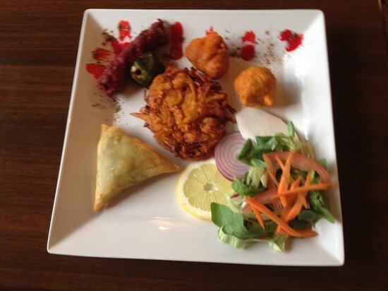 Zaffron Indian Restaurant: Mix starter