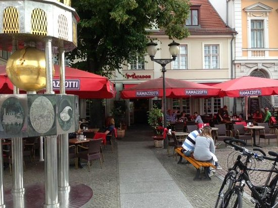 Matador Potsdam - outdoor seating. - Picture of Restaurant and Cafe ...