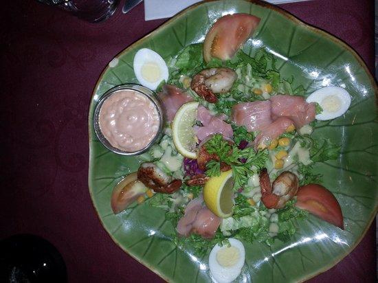 Paradise View : Assiette salade