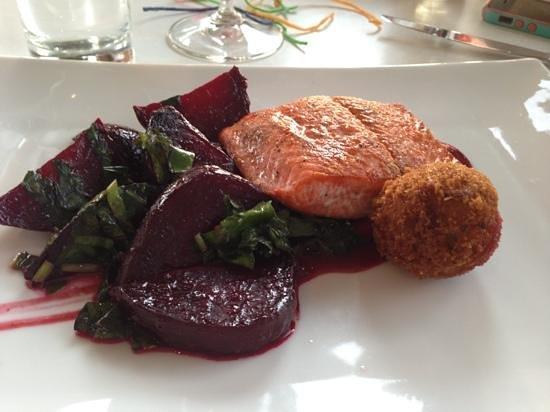 The Vanilla Pod Restaurant : salmon