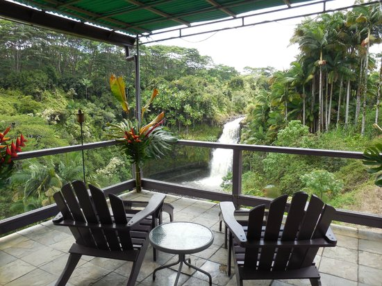 The Inn at Kulaniapia Falls: View from common area