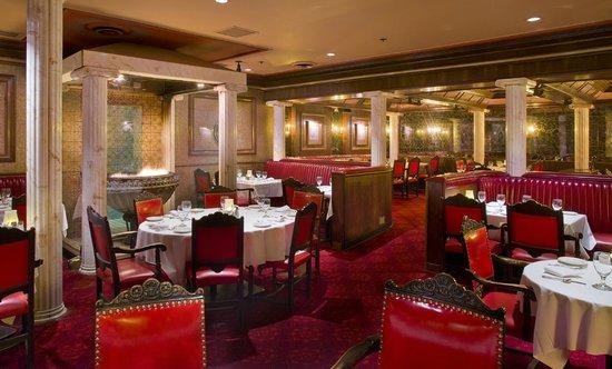 Caesar's Steak House: Dining Room
