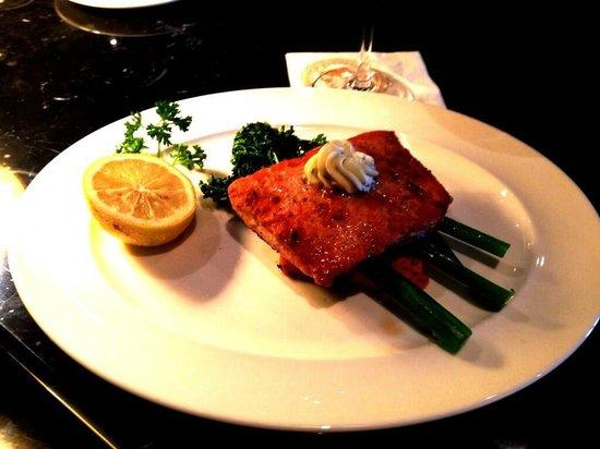 Caesar's Steak House: Sockeye Salmon