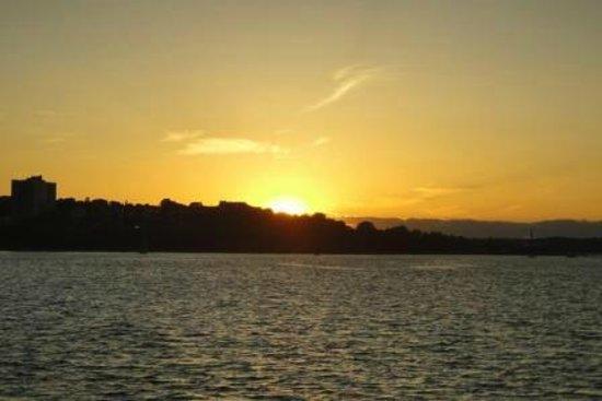 Casco Bay Islands: June sunset