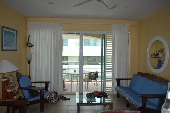 Color de Verano Village Apartments: Apartment 1 Living Area