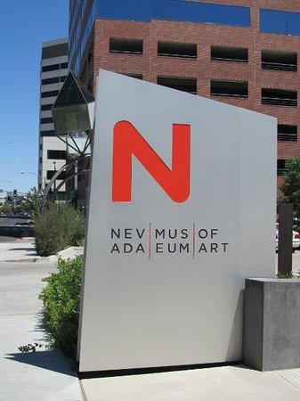 Logo For The Nevada Museum Of Art Itself Quite Artistic Picture Of Nevada Museum Of Art Reno Tripadvisor