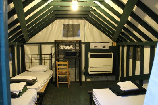 Half Dome Village inside the tent & inside the tent - Picture of Half Dome Village Yosemite National ...