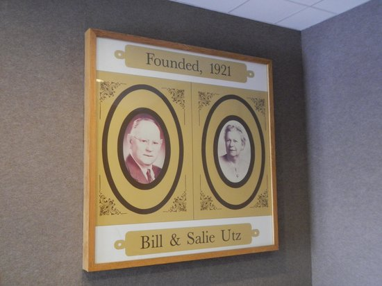 Utz Potato Chip Factory Tour: Creators of the products