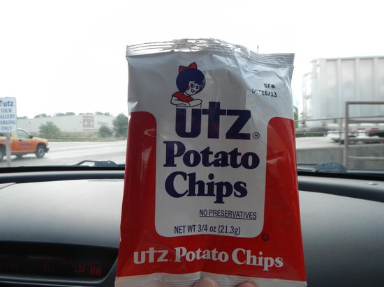 Utz Potato Chip Factory Tour: free chips