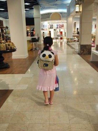T Galleria by DFS, Saipan: サイパンダのリュック